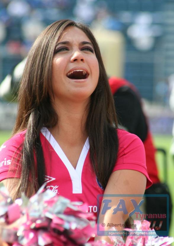 Las Celestes - Porristas Cruz Azul - Apertura2012-Jornada 13 (1)